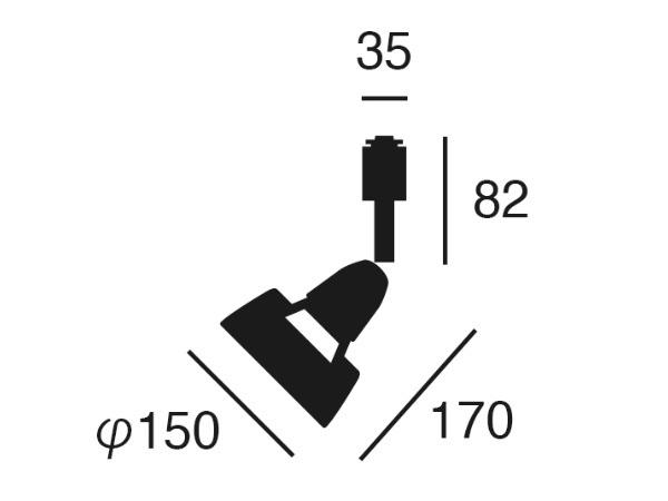 HARMONY GRANDE(ハーモニーグランデ)スポットライト(ライティングレール取付仕様)