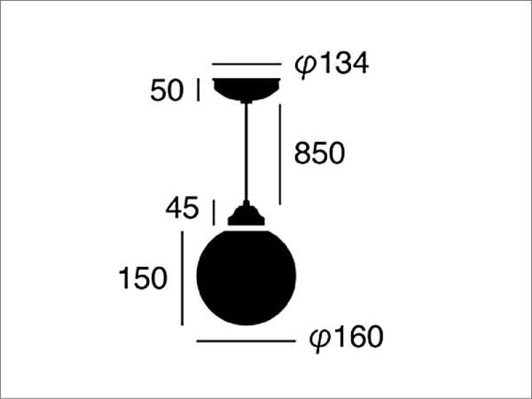 TANGO(タンゴ)ガラスペンダントライト