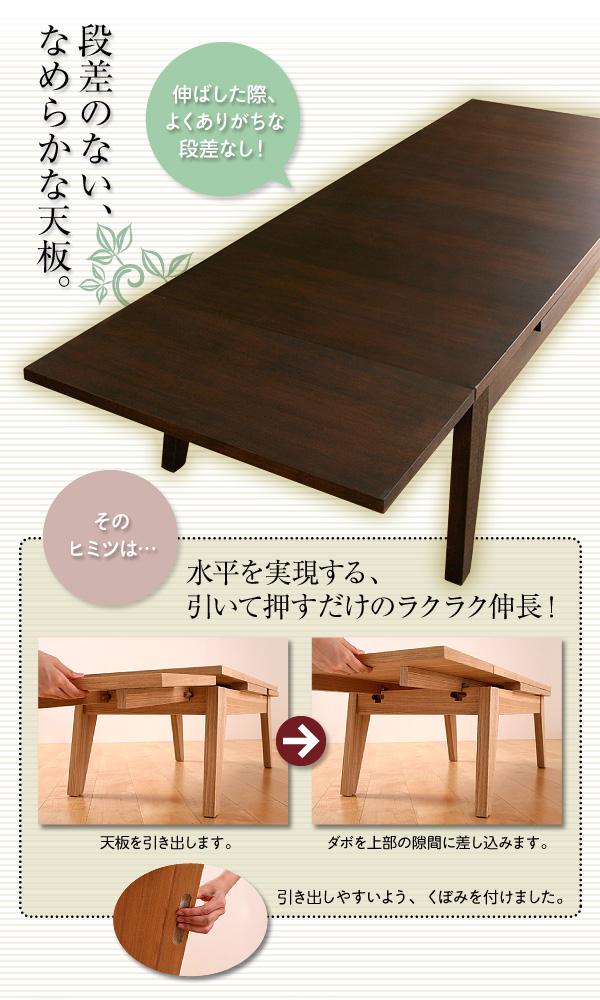 COPAN伸縮テーブル
