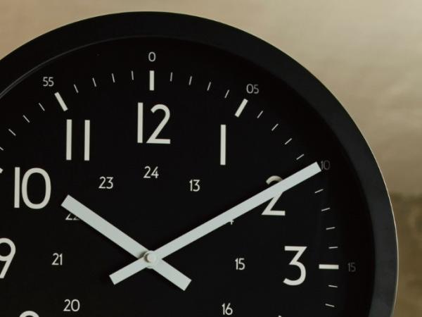 ANTHOS(アントス)ウォールクロック(両面時計)