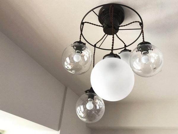 ORELIA5(オレリア5) 5灯ガラスペンダントライト