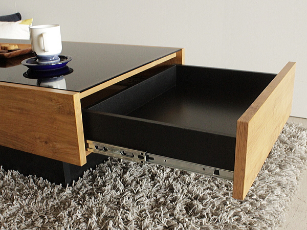 NEITS(ネイツ)引き出し付きセンターテーブル