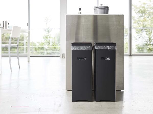 TOWER(タワー)【2個セット】スリム蓋付きゴミ箱